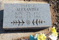 Vern E Alexander