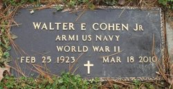 Walter E. Cohen, Jr