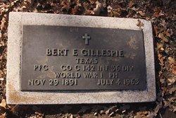 Bert E. Gillespie