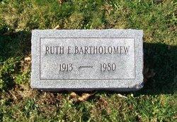 Ruth E. Bartholomew