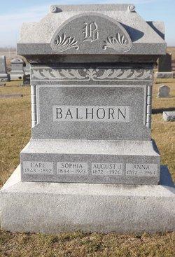 Anna <i>Bender</i> Balhorn