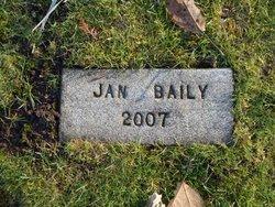 Jan Baily