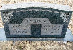 Mary M Baldwin