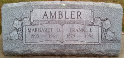 Margaret Octivia <i>Hutsell</i> Ambler