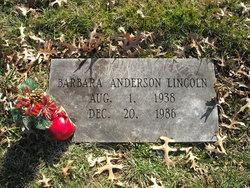 Barbara <i>Anderson</i> Lincoln