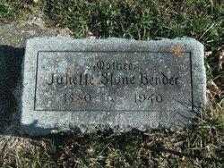 Juliette <i>Stone</i> Bender