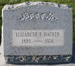 Elizabeth E Hacker