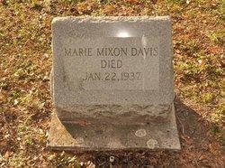 Marie <i>Mixon</i> Davis