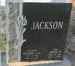 Mrs Geneva W Jackson