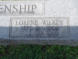 Lorene <i>Wilkey</i> Blankenship