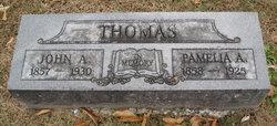 Permelia Andres <i>Burnett</i> Thomas