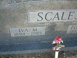 Iva M <i>Evans</i> Scales