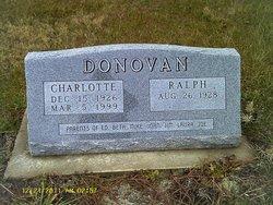 Charlotte Ruth <i>Marshall</i> Donovan
