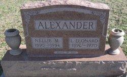 L Leonard Alexander