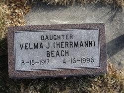 Velma J. <i>Herrmann</i> Beach