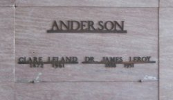 Clare <i>Leland</i> Anderson