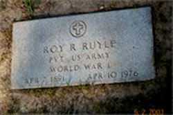 PFC Roy Robert Ruyle