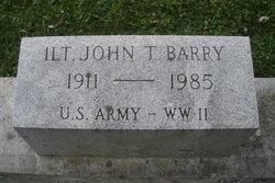 John Thomas Barry, Jr