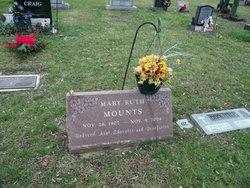 Mary Ruth Mamie Mounts