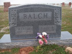 Mattie Lene <i>West</i> Balch
