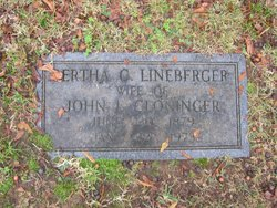 Bertha Colleen <i>Lineberger</i> Cloninger