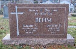Janette Jean <i>Smith</i> Behm