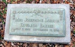 Mrs Josephine Lorena <i>Edwards</i> Barber