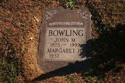 Margaret H Bowling