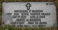 Mary A <i>Lyons</i> Baron
