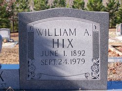 William Alonzo Hix
