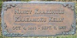 Nancy Kaakohulu <i>Kaaeamoku</i> Kelly