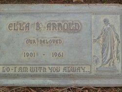 Estella Beulah <i>Clevenger</i> Arnold