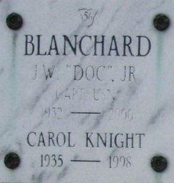 Capt J. W. Doc Blanchard