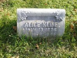 Alice <i>Benner</i> Kline
