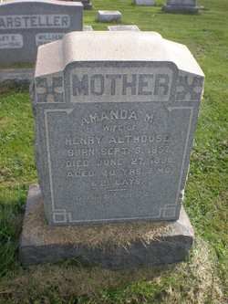 Amanda Matilda <i>Benner</i> Althouse