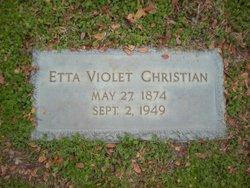 Etta Violet <i>Masters</i> Christian