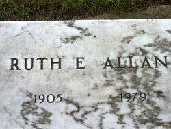 Ruth E <i>Tenant</i> Allan