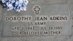Dorothy Jean <i>Bills</i> Adkins