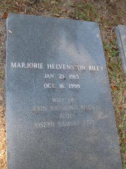 Marjorie <i>Helvenston</i> Riley