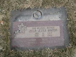 Zella <i>Lester</i> Barton