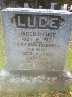 Mary Ann <i>Russell</i> Luce
