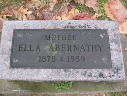 Ella <i>Hamilton</i> Abernathy