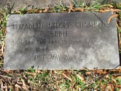 Elizabeth Logan Ebbie <i>Gilkey</i> Chambers