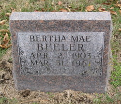 Bertha Mae <i>Watson</i> Beeler