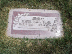 Maude <i>Davis</i> Blair