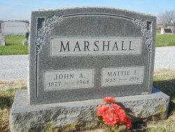 Mattie E. <i>Finn</i> Marshall