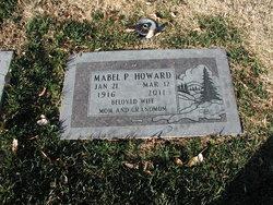 Mabel P Howard