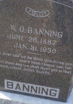 W O Banning