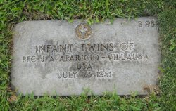 Infant Twin Son Aparicio