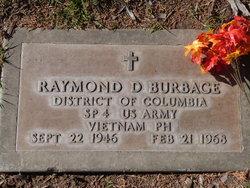 Spec Raymond D. Burbage